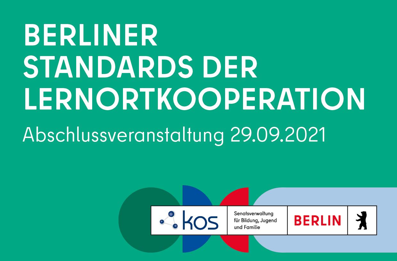 """Abschlussveranstaltung des Pilotvorhabens """"Berliner Standards der Lernortkooperation"""""""